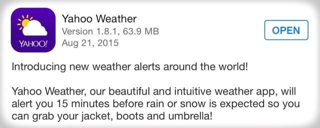 yahoo-weather-update